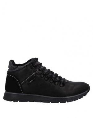Полусапоги и высокие ботинки ENRICO COVERI. Цвет: черный