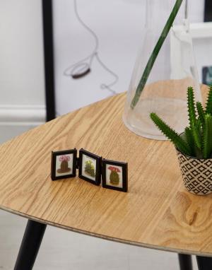 Фоторамка для трех миниатюрных фотографий -Мульти Sass & Belle