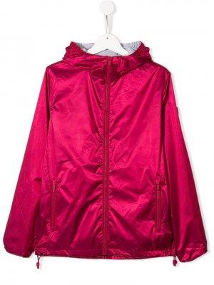 Непромокаемая куртка с капюшоном Ciesse Piumini Junior. Цвет: розовый