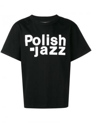 Футболка Polish Jazz Misbhv. Цвет: nero