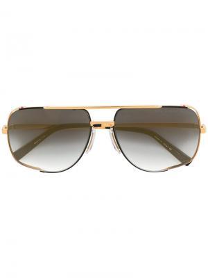 Солнцезащитные очки Midnight Special Dita Eyewear. Цвет: золотистый