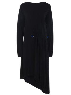Платье из хлопка и шерсти ROQUE