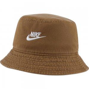 Bucket Futura Wash Nike. Цвет: коричневый