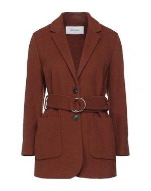 Пальто AMERICAN VINTAGE. Цвет: коричневый
