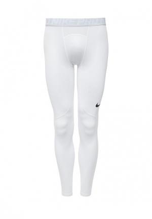 Тайтсы Nike Mens Pro Tights. Цвет: белый