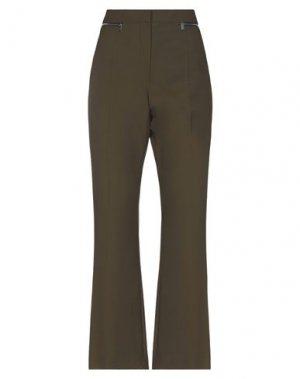 Повседневные брюки SONIA RYKIEL. Цвет: зеленый-милитари
