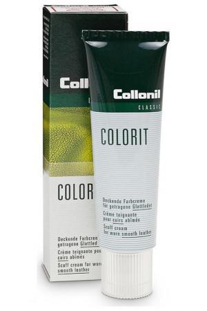 Крем для восстановления цвета Collonil. Цвет: темно-коричневый