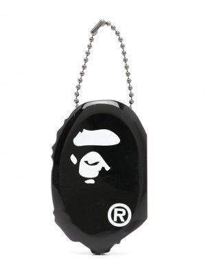 Клатч Ape Head A BATHING APE®. Цвет: черный