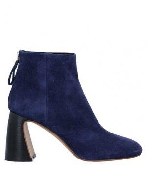 Полусапоги и высокие ботинки PREMIATA. Цвет: темно-синий
