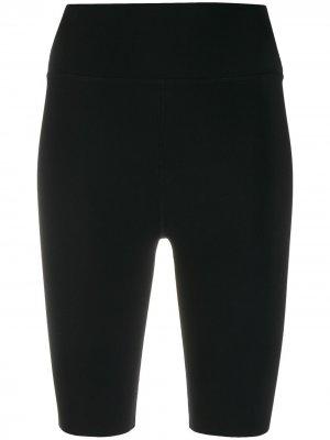 Облегающие шорты с завышенной талией Filippa K Soft Sport. Цвет: 1433 черный