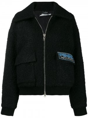 Куртка-бомбер Uniqueness Pinko. Цвет: черный