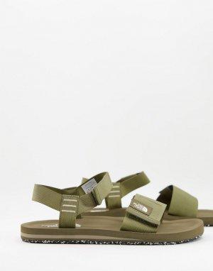 Зеленые сандалии Skeena-Зеленый цвет The North Face