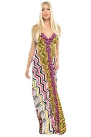 Платье Analili. Цвет: розовый