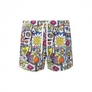 Плавки-шорты Moschino. Цвет: разноцветный