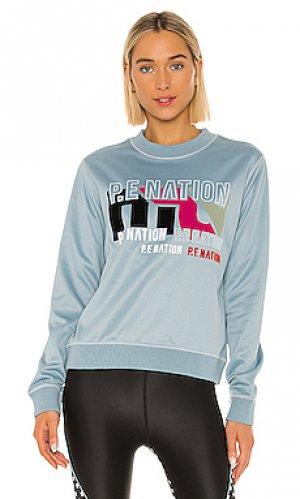 Свитшот flex it P.E Nation. Цвет: синий
