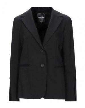 Пиджак DENNY ROSE. Цвет: черный