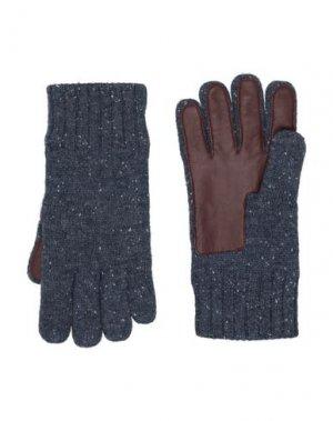 Перчатки UGG AUSTRALIA. Цвет: грифельно-синий