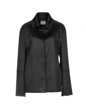 Легкое пальто COSTUME NATIONAL. Цвет: черный
