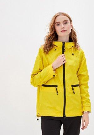 Куртка Chic & Charisma. Цвет: желтый
