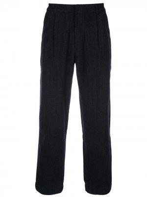 Зауженные брюки Signal Folk. Цвет: черный