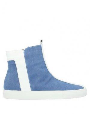 Кеды и кроссовки ALBERTO FERMANI. Цвет: синий