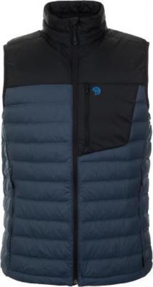 Жилет пуховый мужской Dynotherm, размер 56 Mountain Hardwear. Цвет: синий