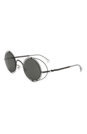 Солнцезащитные очки Maison Margiela. Цвет: чёрный
