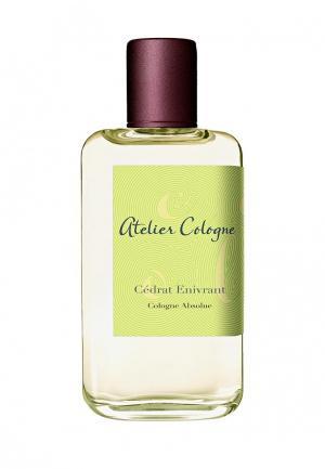 Парфюмерная вода Atelier Cologne CEDRAT ENIVRANT Absolue 100 мл. Цвет: прозрачный