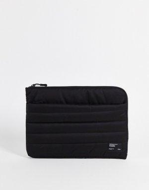 Мягкий черный чехол для ноутбука размером 13 дюймов Typo-Черный цвет TYPO