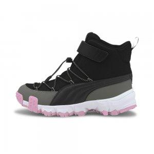 Детские ботинки Puma Maka V Jr. Цвет: черный