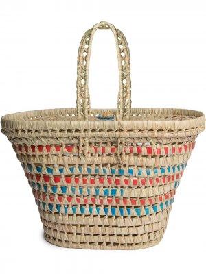 Плетеная корзина для пикника Hay. Цвет: нейтральные цвета