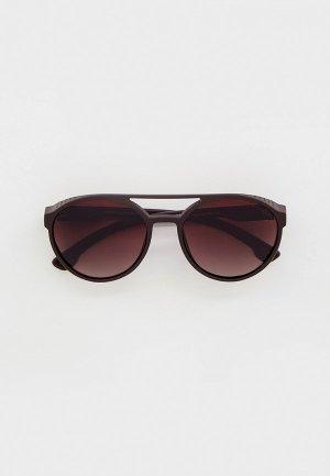 Очки солнцезащитные Thom Richard TR9020. Цвет: коричневый