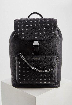 Рюкзак Michael Kors с декоративной пристяжной цепочкой. Цвет: черный