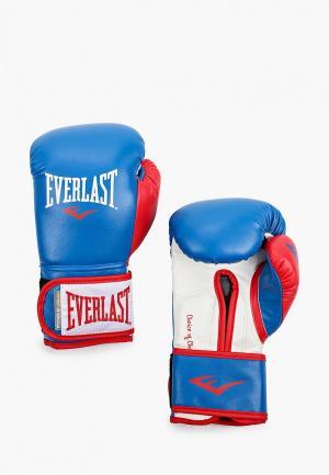 Перчатки боксерские Everlast Powerlock. Цвет: разноцветный