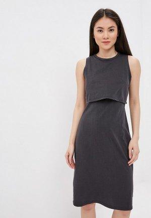 Платье Vans. Цвет: серый