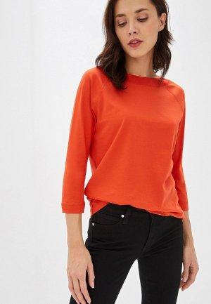Лонгслив Calvin Klein. Цвет: оранжевый