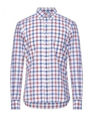 Pубашка BARBOUR. Цвет: синий