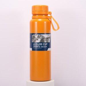 1шт Вакуумная чашка из нержавеющей стали SHEIN. Цвет: оранжевый