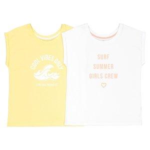 Комплект из футболок с La Redoute. Цвет: желтый