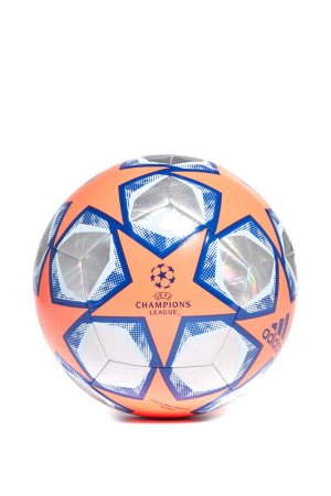 Мяч FIN 20 TRN FOIL adidas. Цвет: серый