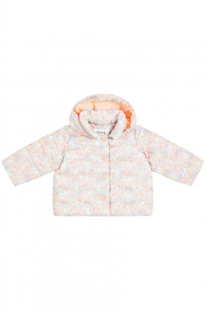 Куртка с цветочным принтом Bonpoint. Цвет: multicolor