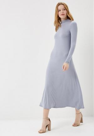 Платье Marks & Spencer. Цвет: голубой