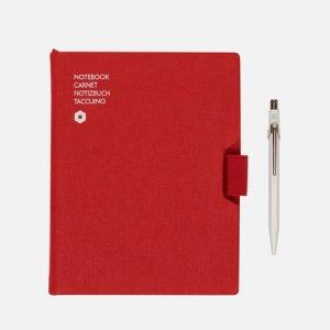 Записная книжка Caran dAche Office A5 Line 192 pgs d'Ache. Цвет: красный