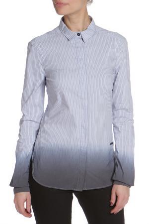 Рубашка CNC Costume National C'N'C. Цвет: голубой