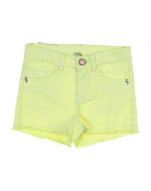 Повседневные шорты 3 POMMES. Цвет: желтый