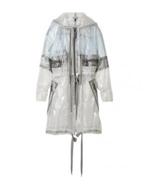 Легкое пальто MARC JACOBS. Цвет: светло-серый