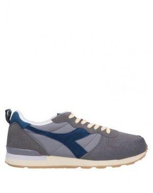 Кеды и кроссовки DIADORA. Цвет: серый