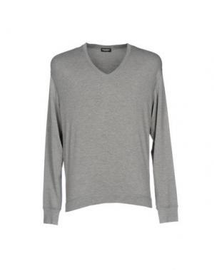 Трикотажное белье DSQUARED2. Цвет: серый