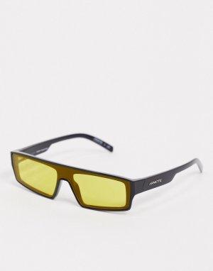 Черные солнцезащитные очки с желтыми стеклами x Post Malone-Черный Arnette