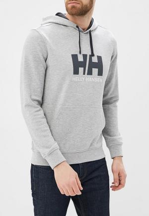 Худи Helly Hansen HH LOGO HOODIE. Цвет: серый
